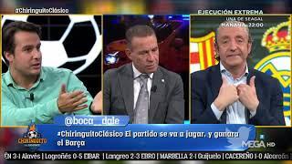 JUANFE hace 'ESTALLAR' a BUYO en EL CHIRINGUITO