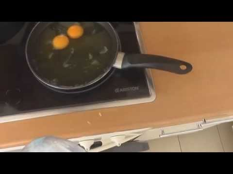 Eigelb vom Eiweiss trennen | How to Seperate Egg Whites Hüseyin Kocan The Aesthetic Body zyzz