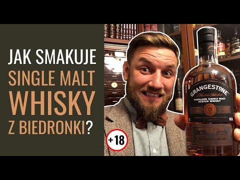 Jak smakuje Grangestone Whisky? Single Malt z Biedronki