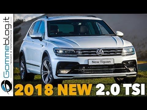 Tiguan 2018 NEW 2.0-LITER TSI | LOWER Fuel Consumption but MORE Torque Performance