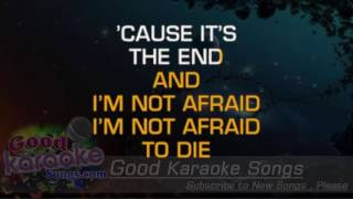 In The End - Black Veil Brides (Lyrics Karaoke) [ goodkaraokesongs.com ]