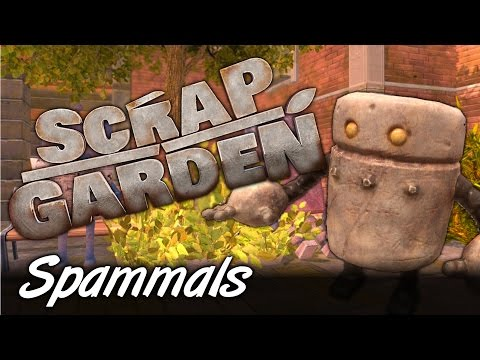 Scrap Garden | Part 1 | THE LITTLE ROBOT THAT COULD!