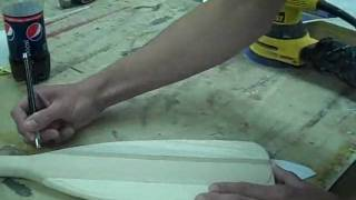 Creating a Vernon Grant paddle.wmv
