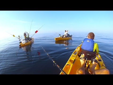 Offshore Kayak Fishing Destin Florida - Hobie - GoPro