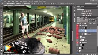 Tutoriel Photoshop CC : Vérifier que son montage donne un résultat correct
