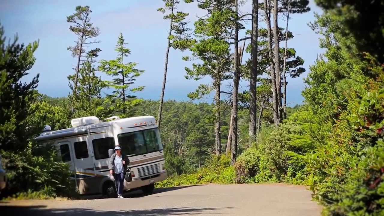 Pacific City Oregon Coast Rv Resort And Campground Youtube