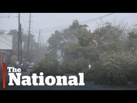 Hurricane Irma makes landfall in Caribbean