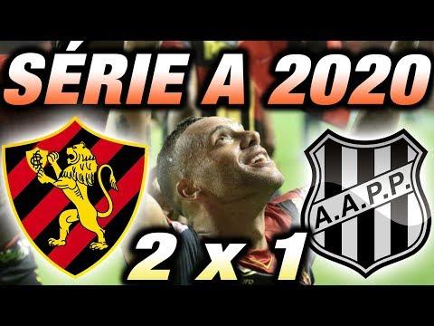 Sport x Ponte Preta Ao Vivo l Campeonato Brasileiro Série B l 37ª Rodada
