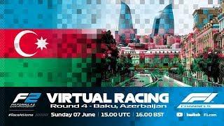 F2 Virtual Racing, Round 4 | Baku