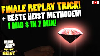 🤑Heist FINALE REPLAY Trick + Beste GELD Methoden!🤑 [GTA 5 Online Cayo Perico Heist Update TUTORIAL]