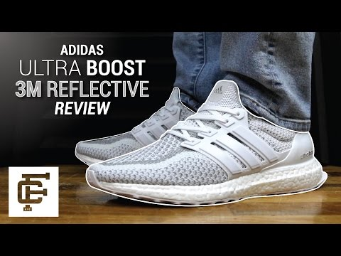 ADIDAS ULTRA BOOST LTD 3M WHITE REFLECTIVE REVIEW