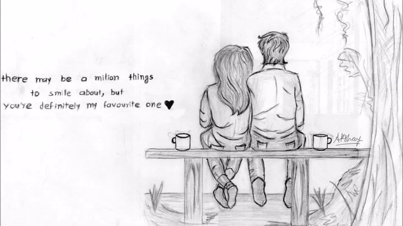 Drawings Of I Love Couples