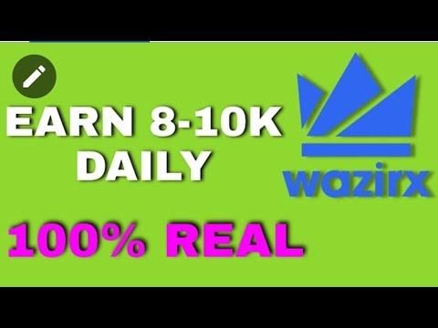 Wazirx Indian Crypto currency trading platform    WazirX  WazirX India free crypto currency bitcoin