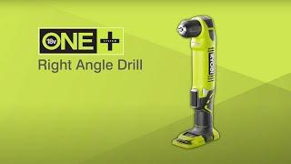 Ryobi ONE+ 18V Cordless Right Angle Drill Introduction [RAD1801M]