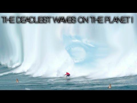 SURF: THE DEADLIEST WAVES ON THE PLANET (PART 1) | DUNGEONS, MAVERICKS, TEAHUPPO, JAWS, NAZARÉ