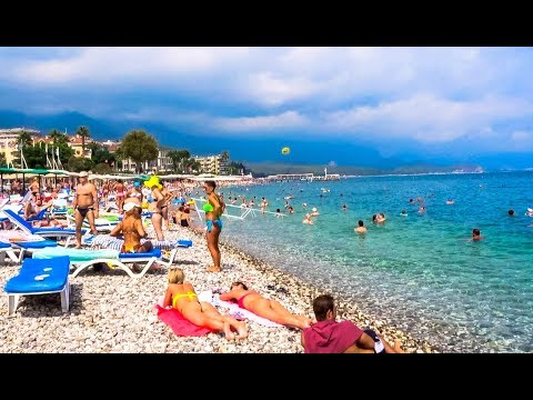 Kemer Beach Turkey September 2017