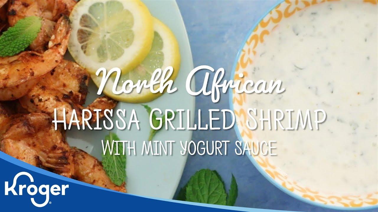 How to Make North African Harissa Grilled Shrimp | Kroger Recipes | Kroger