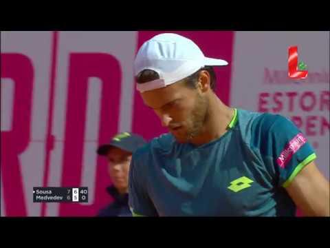 Estoril Open: Sousa vs Medvedev (01.05.2018 // by LTV)