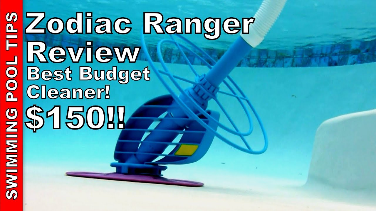 Zodiac Ranger is the Best Budget Priced Cleaner -Only $150! Watch and See!
