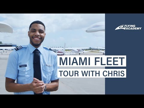 Miami Fleet Tour with Chris, Flying Academy instructor