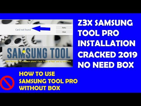 How To Install Z3X Samsung Tool Pro Cracked Without Box