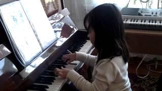 Урок музыки.Алиса 6 лет