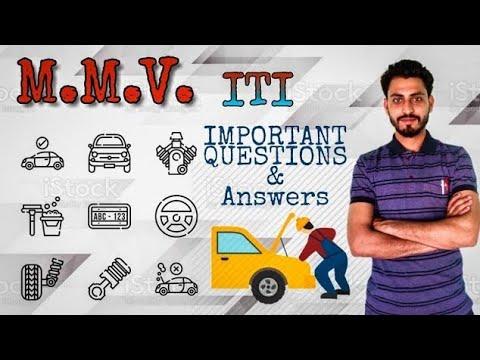Part -15,Vehicle Mechanic Important Question Iti/CTI/BRO
