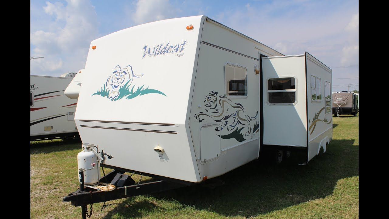 Demontrond Texas City >> 2004 Forest River WildCat - used Travel Trailer - DeMontrond RV in Texas City - YouTube