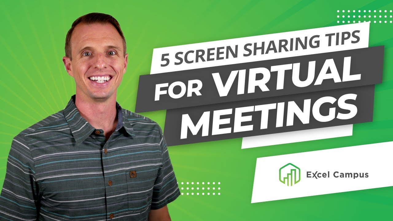 Screen Sharing Tips for Virtual Meetings