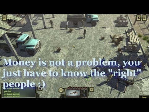 Atom rpg best places to sell loot and make money, all merchants shown and Peregon trick