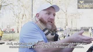 Membahas Islam, Hamza bertemu dengan mahasiswi yang penasaran