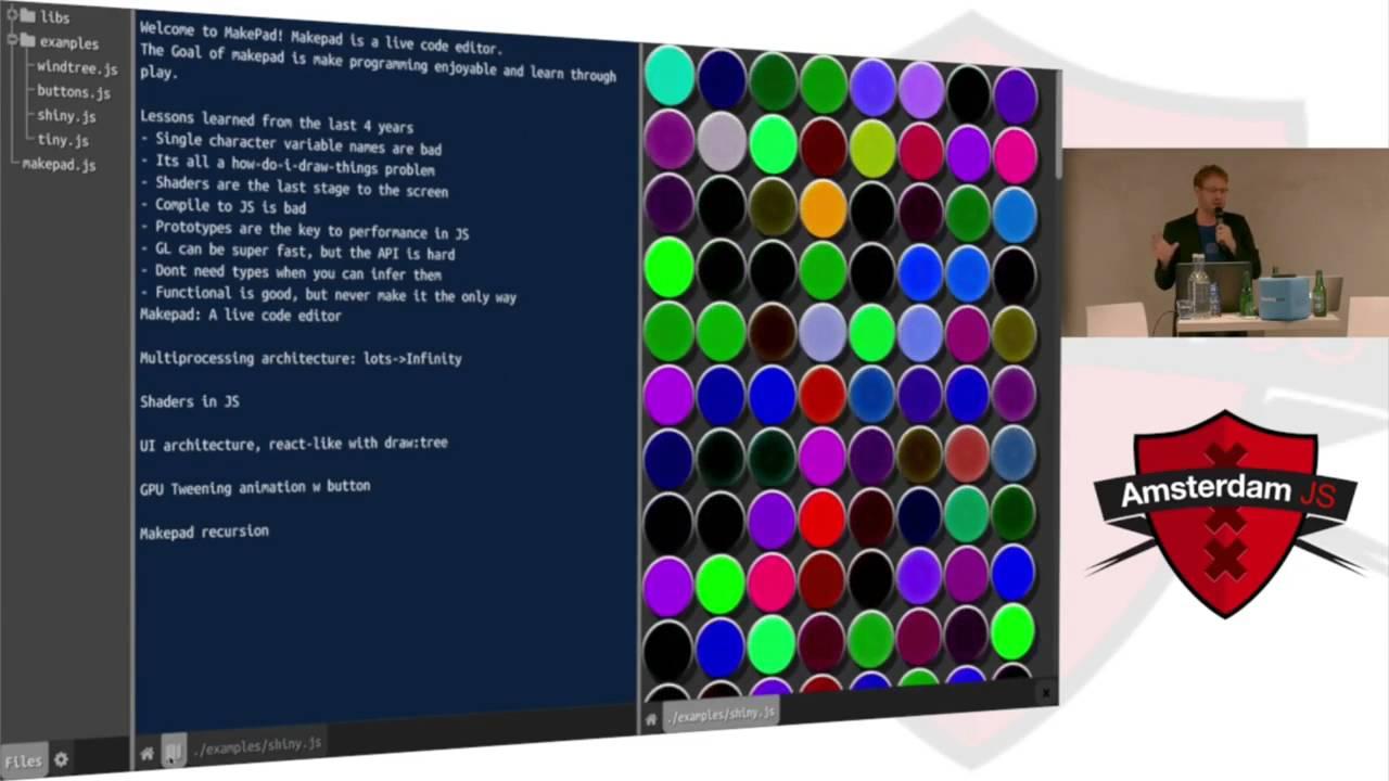 Rik Arends: Multi-threaded JavaScript inside Makepad