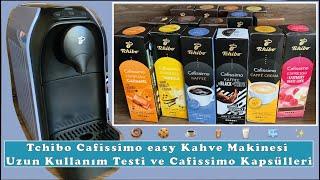 Tchibo Cafissimo easy Kahve Makinesi Uzun Kullanım Sonrası Yorumlarım ve Cafissimo Kapsülleri✨☕️