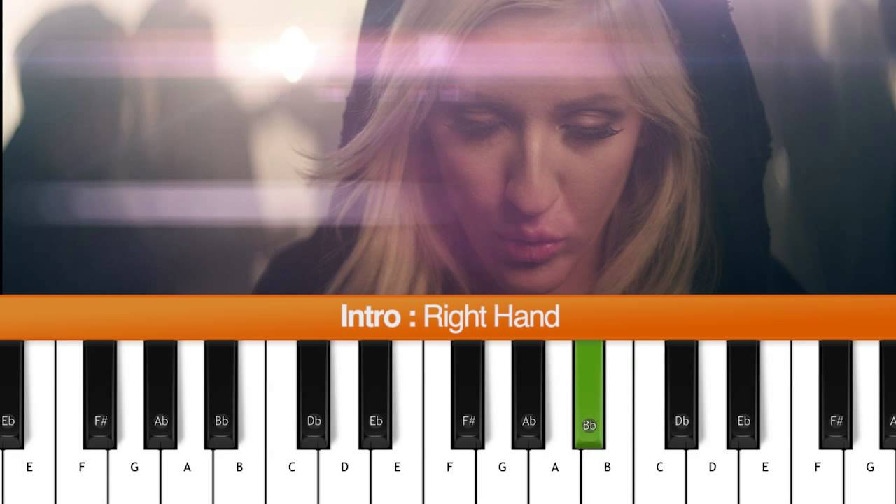 How to play burn ellie goulding piano tutorial chords youtube how to play burn ellie goulding piano tutorial chords hexwebz Image collections