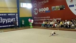 Бабанова Татьяна гимнастика Бишкек