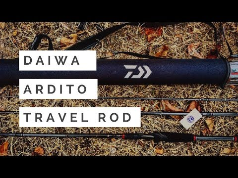 Daiwa Ardito TR: Top TRAVEL ROD For Fishermen?