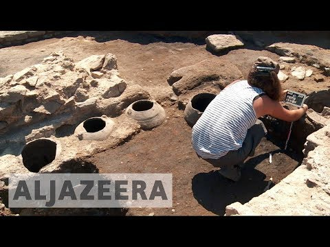 Archaeologists race to save Roman ruins in France