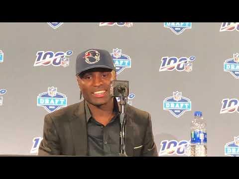 JoeJuan Williams New England Patriots 2019 NFL Draft Pick Interview