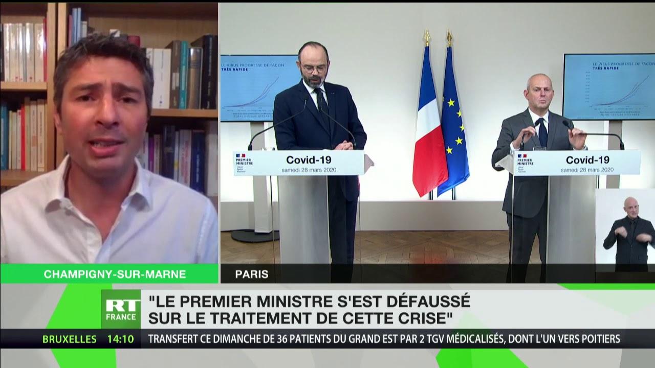 Conférence d'Edouard Philippe: «Le Premier ministre s'est défaussé sur le traitement de cette crise»