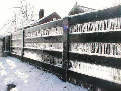 Ice Storm In Danville, Kentucky 2009