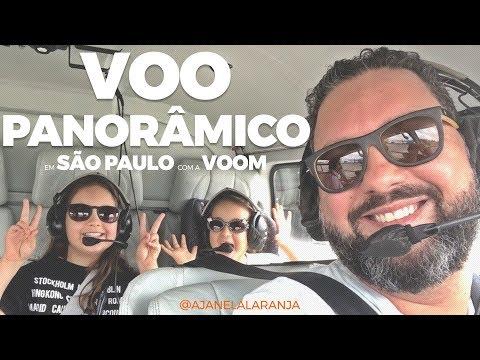Passeio de helicoptero por São Paulo. Amamos o helicóptero