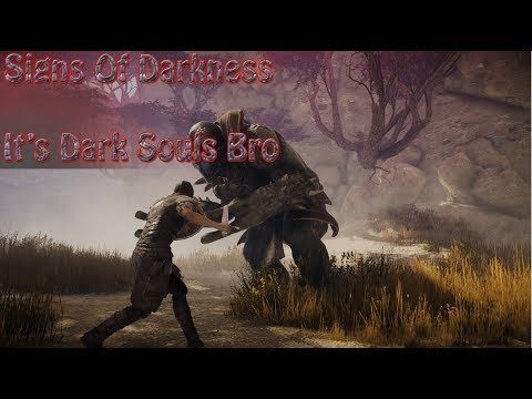 Signs Of Darkness  First Impressions Gameplay Like Dark Souls!?