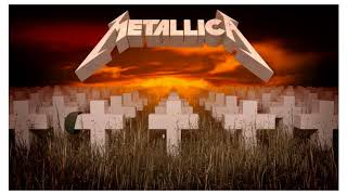 Backing Track Master of Puppets Vocals & Harmony - Metallica