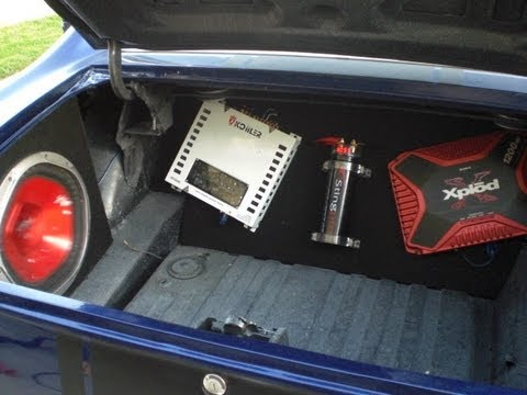 How To Make A Custom 98 Civic Trunk Mat Pt 1 Doovi