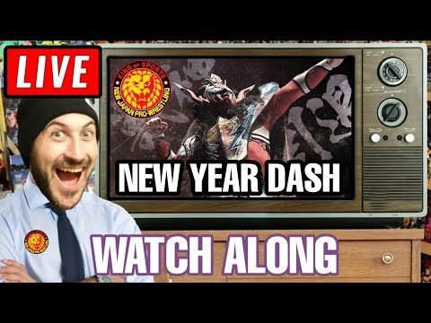 🔴 NJPW New Year Dash 2020 Full Show Live Reaction Stream