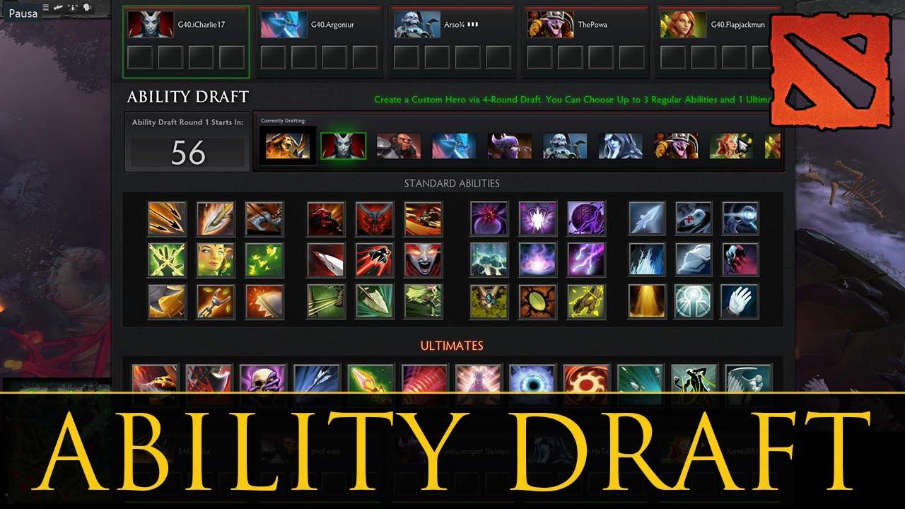 DOTA 2 - Ability Draft Gameplay   Wombo Combo