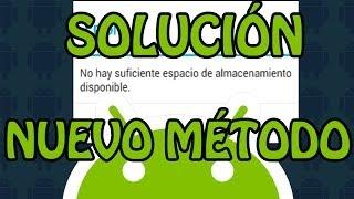 """SOLUCION problemas de instalacion de aplicaciones por """"almacenamiento indisponible"""" en Android (NEW)"""