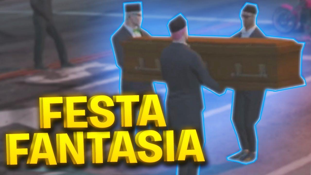 UMA FESTA MUITO LOUCA NO GTA RP