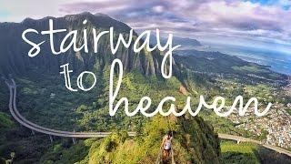 Oahu, Hawaii: Stairway to Heaven (Haiku Stairs) 2016