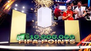 ICONO en el PRIMER PACK OPENING de FIFA 19 !! *10 MILLONES DE FIFA POINTS*
